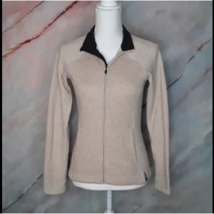 MOUNTAIN HARDWEAR Wool Blend Tan Sweater
